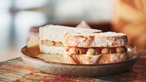 Vegan Sausage Sandwich