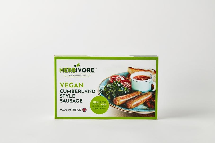 Vegan Cumberland Sausage Pack